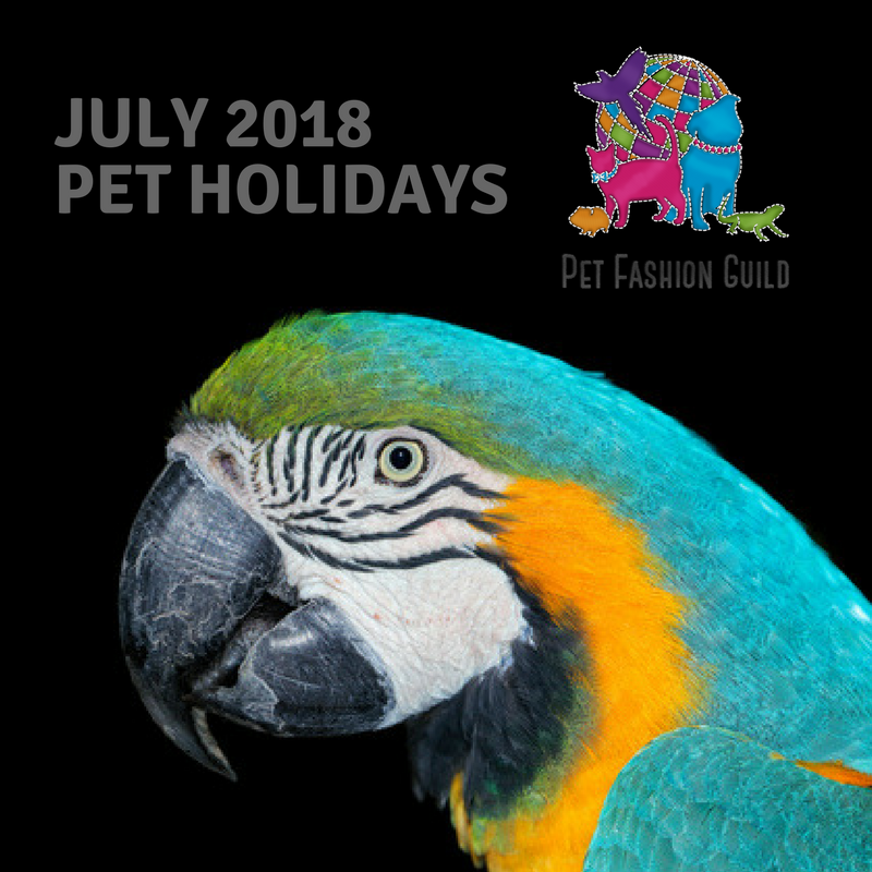 2018 July Pet Holidays