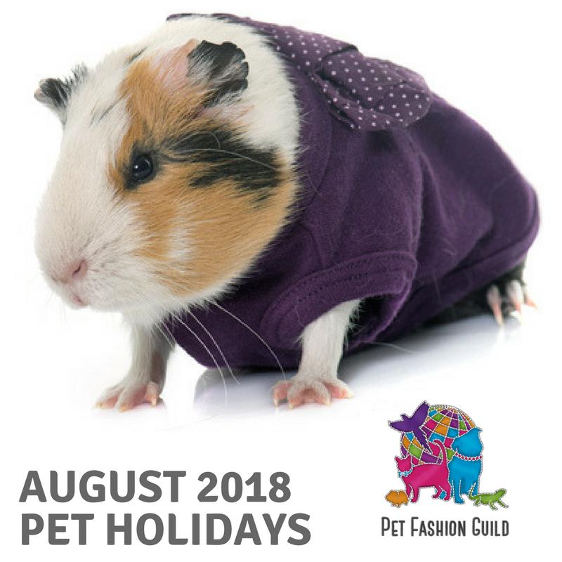 2018 August Pet Holidays
