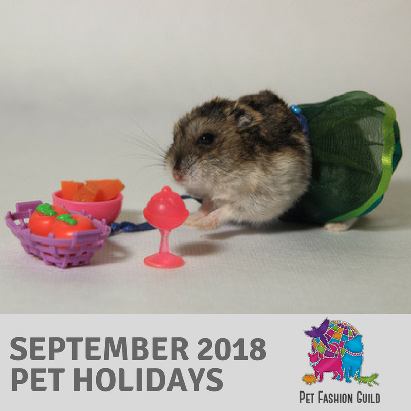 2018 September Pet Holidays