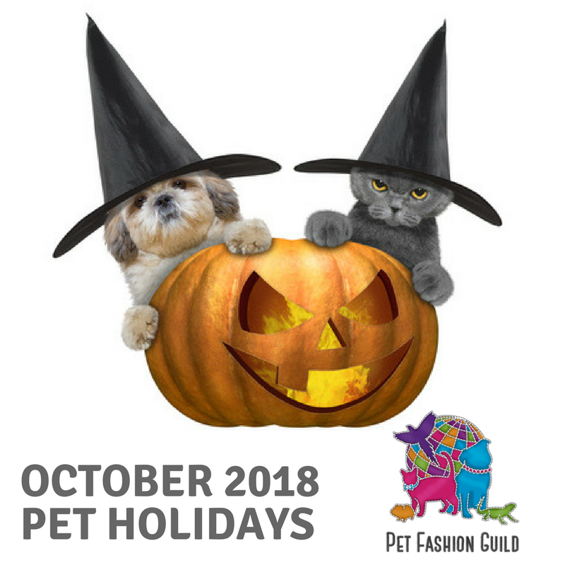 2018 October Pet Holidays