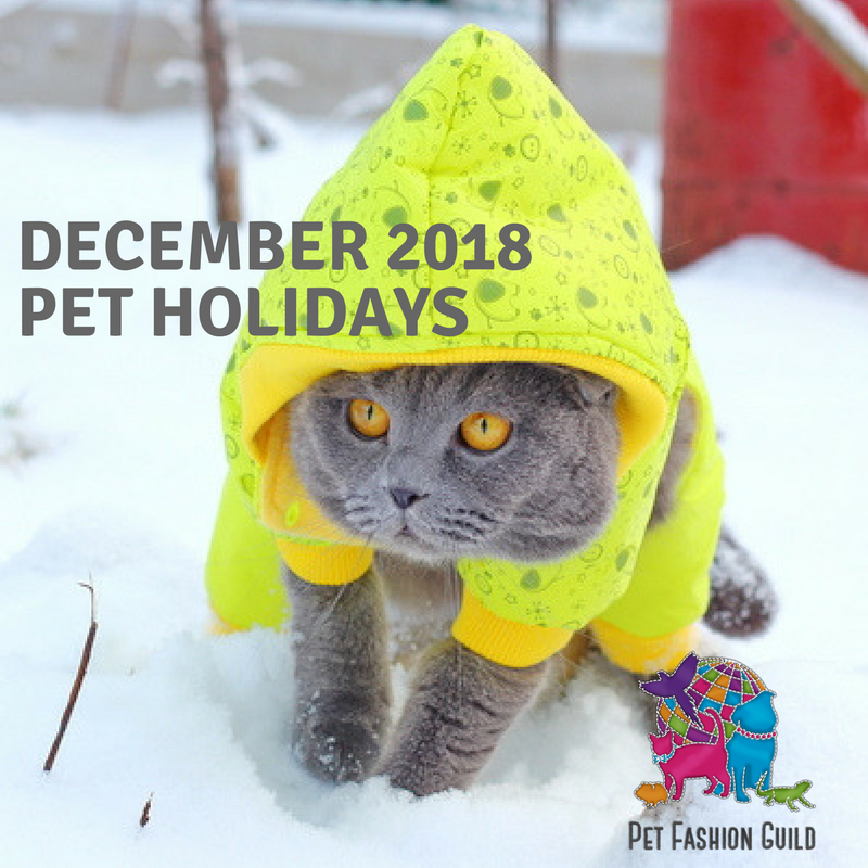 2018 December Pet Holidays