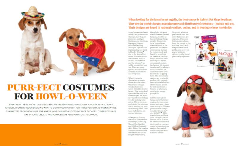 Pet Halloween Costume Trends