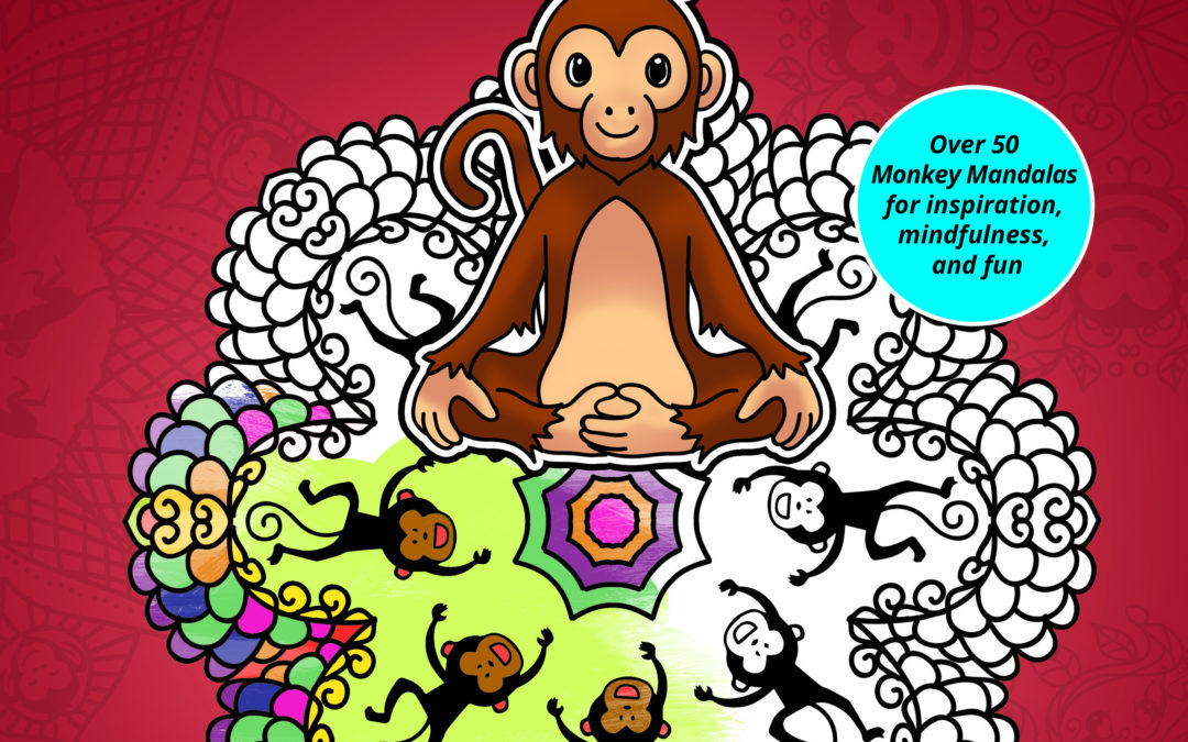 MonkeyDala Coloring Book Released by Left Paw Press