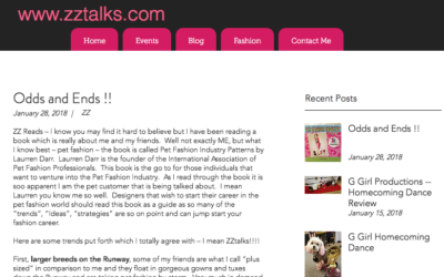 ZZ Talks Review Pet Fashion Industry Patterns