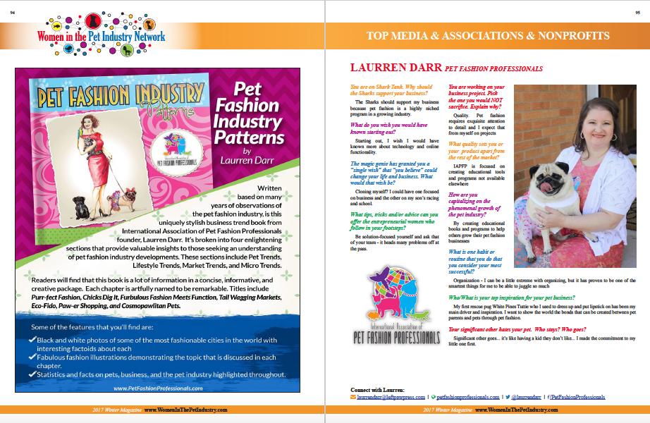 Winter Women In Pet Industry Feature of Laurren Darr