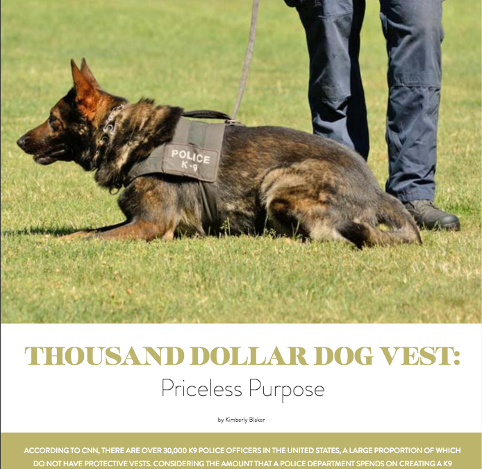 Thousand Dollar Dog Vest- Priceless Purpose – Boomer Pet Magazine