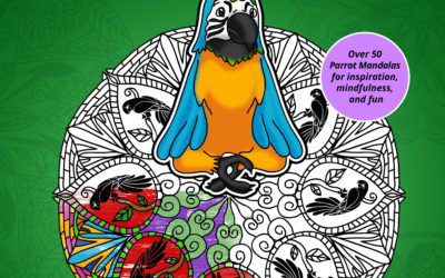 ParrotDala Coloring Book Released by Left Paw Press